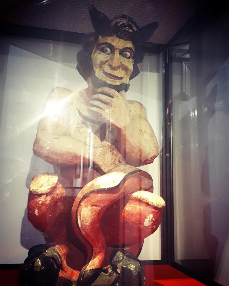 The Swansea Devil at Swansea Museum