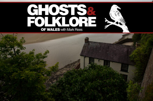 GHOSTS AND FOLKLORE OF WALES with Mark Rees EP08 The Ghost of Dylan Thomas - Laugharne