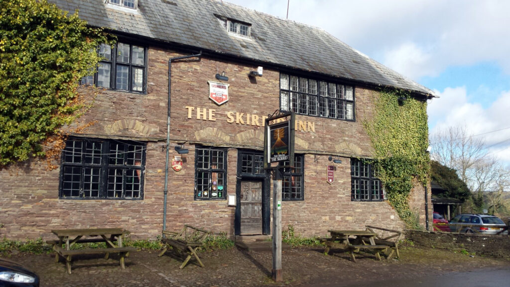 The Skirrid Inn from Paranormal Wales by Mark Rees. Photo by Sandra Evans.