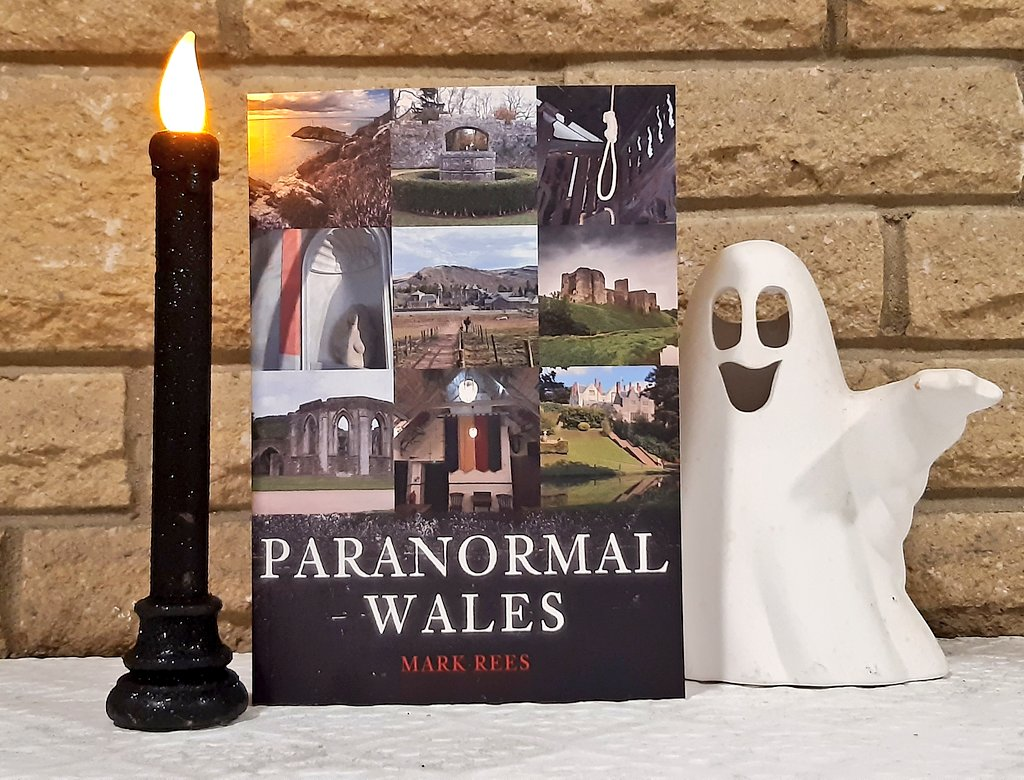 Signed Ghosts of Wales and Paranormal Wales books available NOW from The Comix Shoppe