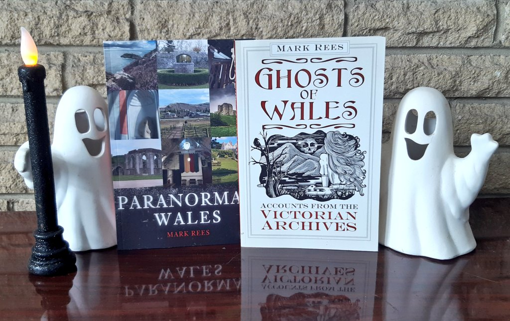 Ghosts of Wales and Paranormal Wales podcast and books from Mark Rees