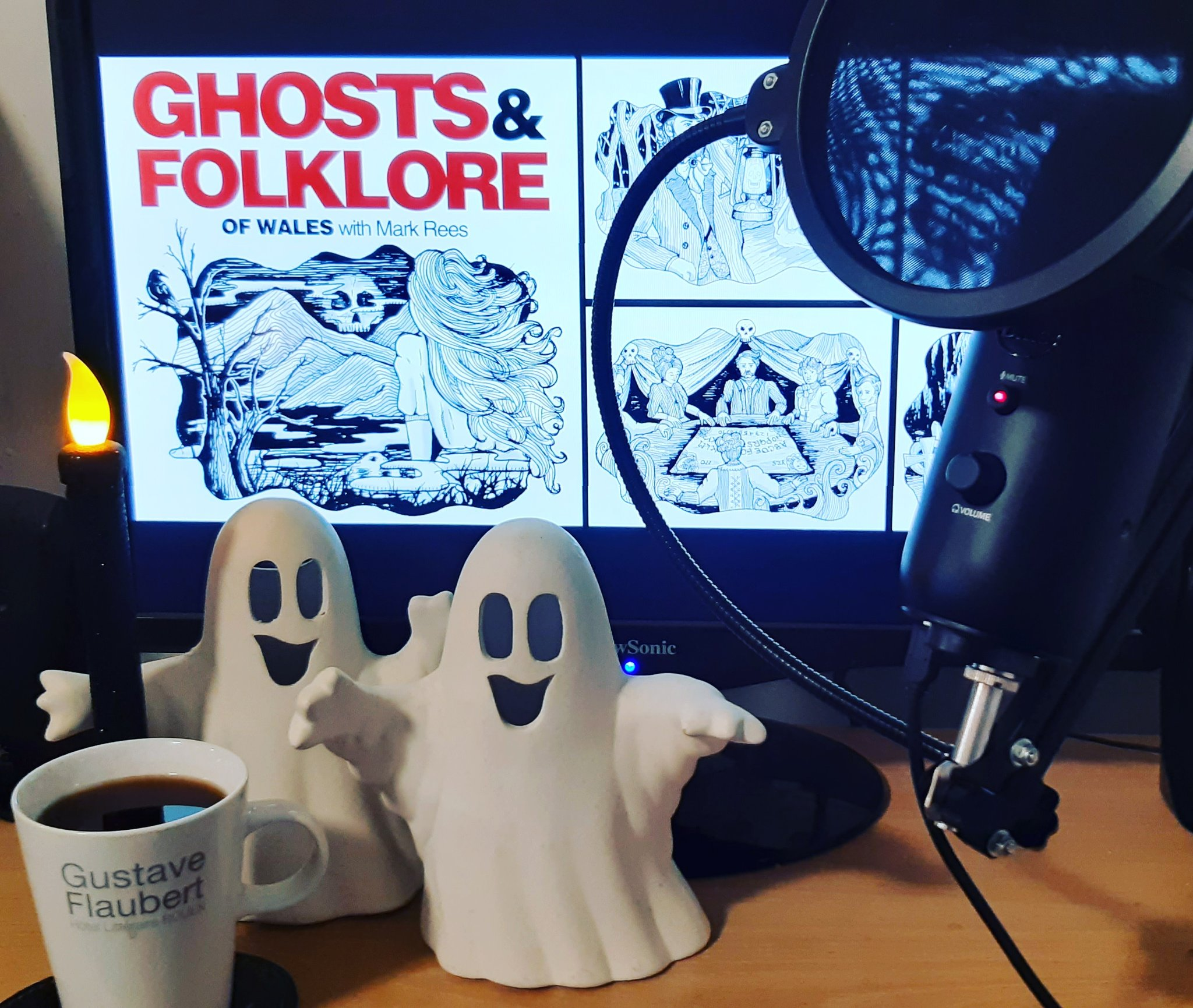Paranormal Wales book launch coming to the Ghosts & Folklore podcast this Halloween