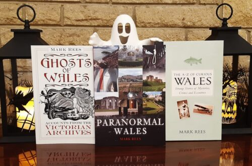 Welsh ghost books from Mark Rees: Ghosts of Wales, Paranormal Wales and The A-Z of Curious Wales