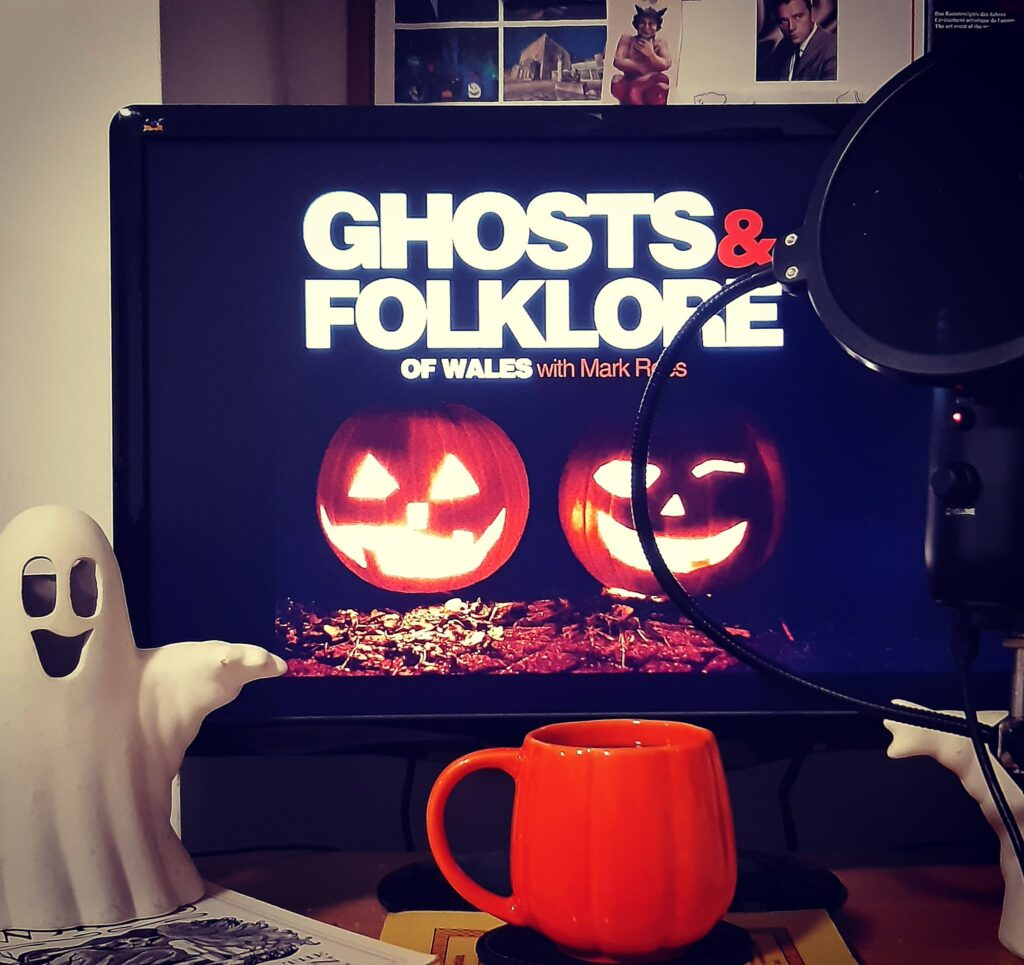 Halloween on the Ghosts & Folklore of Wales with Mark Rees podcast - the History of Halloween / Nos Calan Gaeaf
