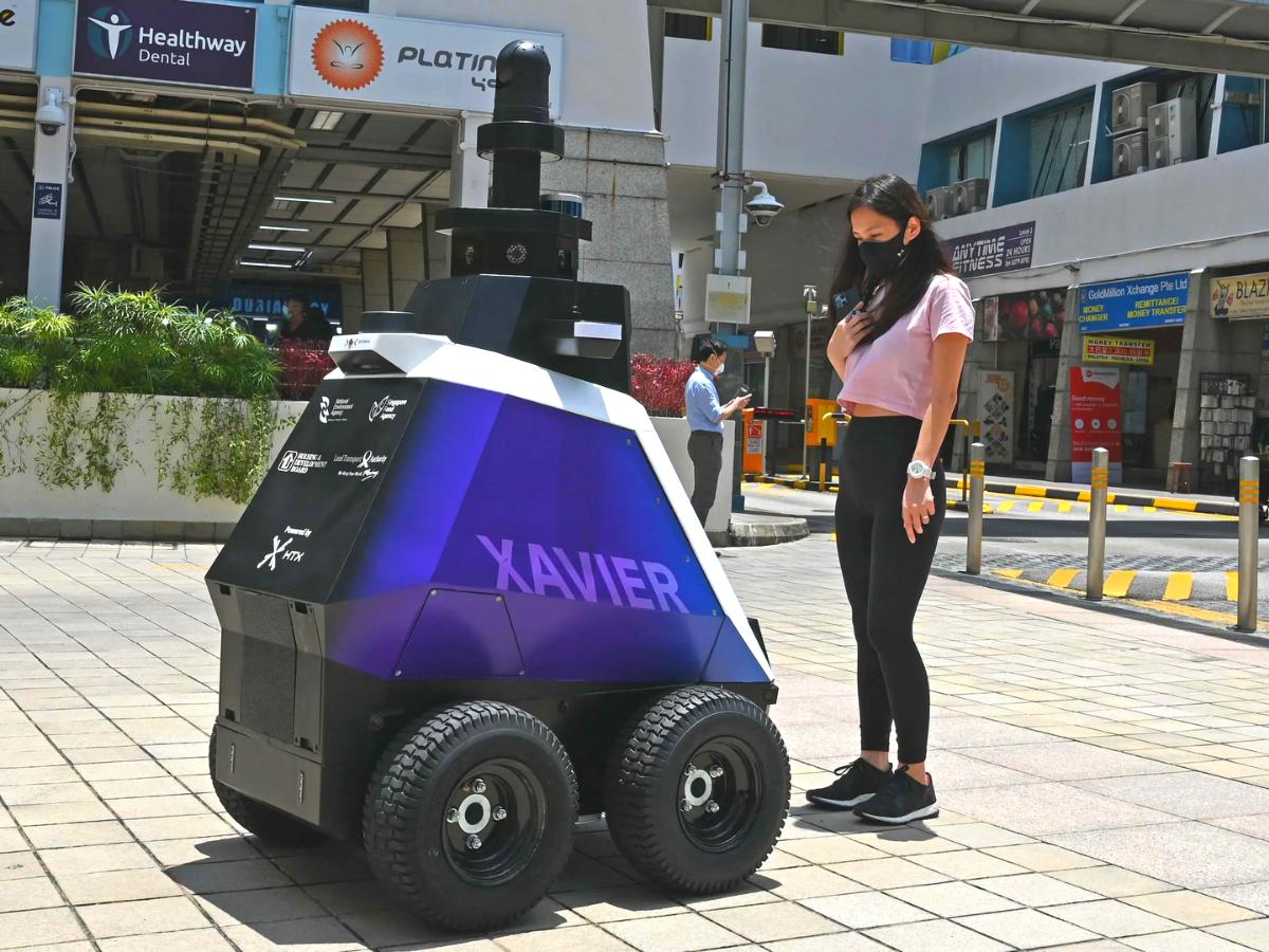 Singapore Unveils 'Dystopian' Police Robots
