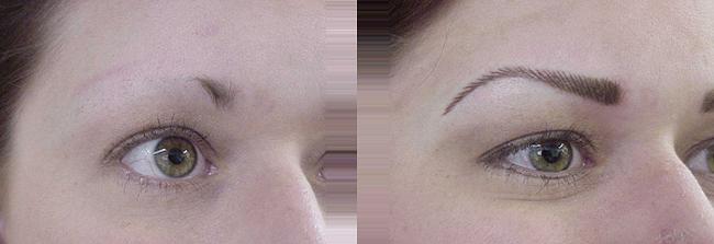 eyebrow permanent makeup