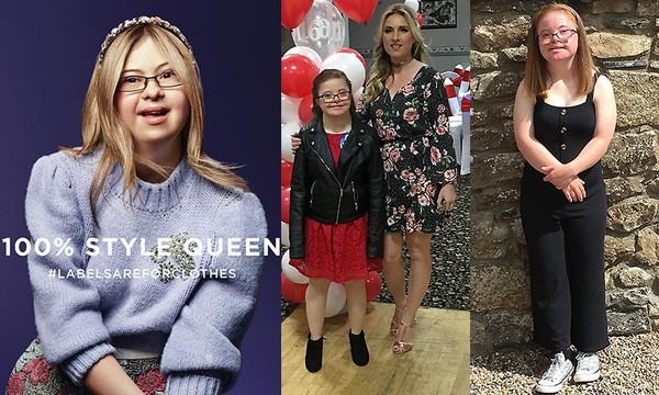 River Island Showcasing First Ever Down Syndrome Model