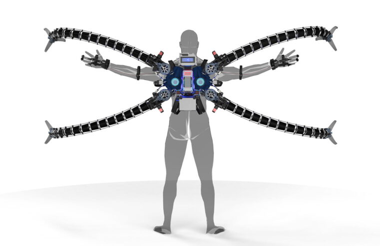 Bitcoin Millionaire Built Functioning Octopus Costume for a 10-year-old with Hypermobility