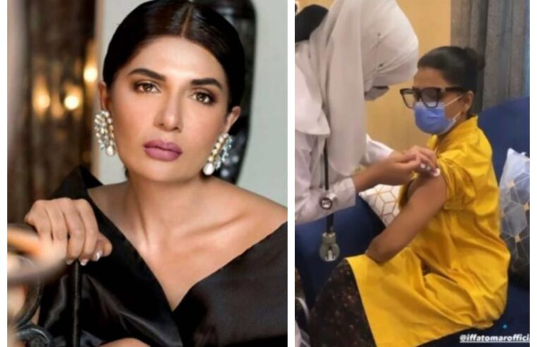 Twitter crowd roasts Iffat Omar for 'lying after getting out of turn Covid vaccination'