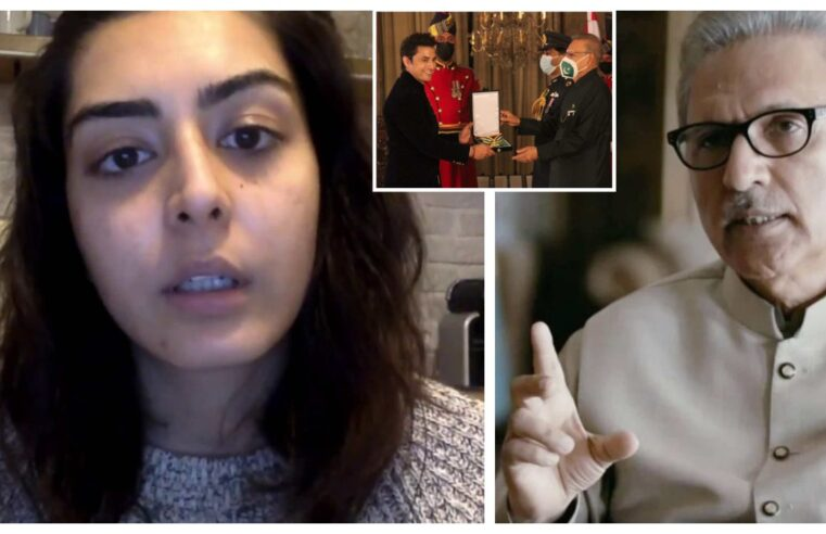 'Shame on You' – Shireen Mazari's daughter lambasts President Alvi to award Ali Zafar amid harassment suit despite a group of women meeting him on the issue