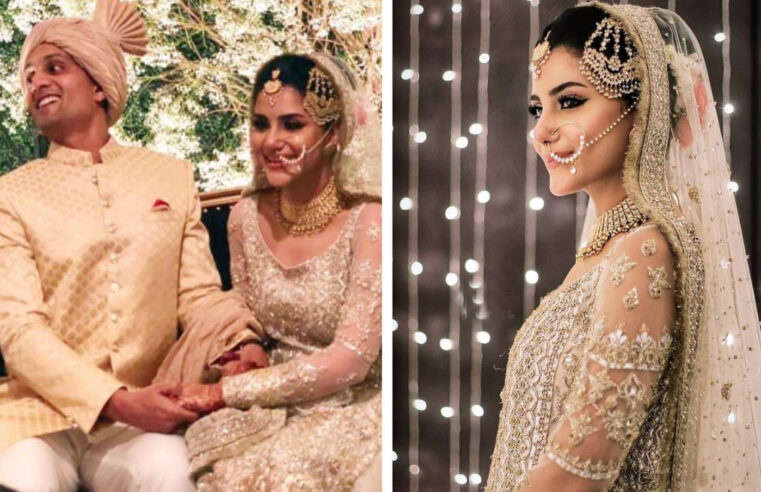 Sohai Abro ties knot with the grandson of former test player 'Little Master' Hanif Mohammad