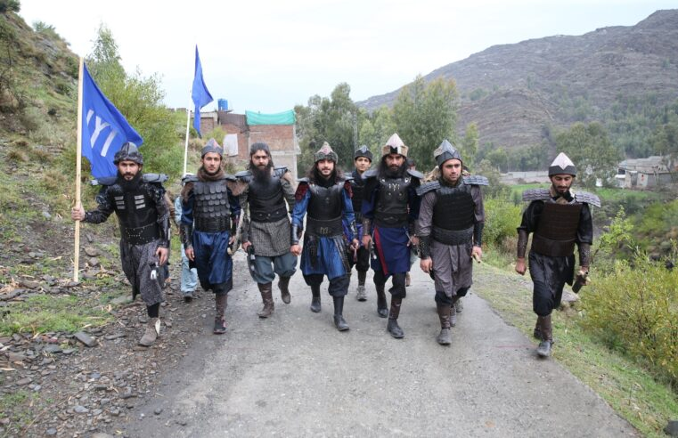 Swat Teenagers remake 'Pashto Ertuğrul' with limited resources