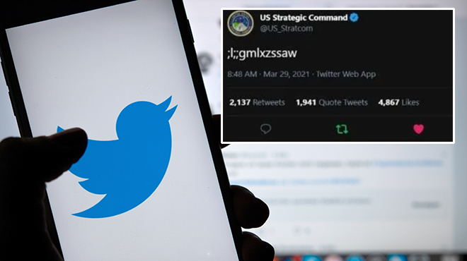 US Nuclear Command's Twitter account taken over by a toddler, tweets gibberish