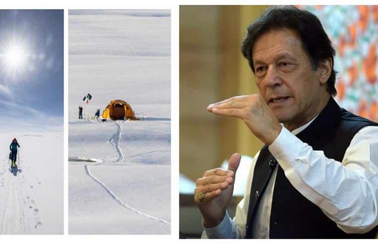 Talk about influencing – PM Khan just shared country's first ski resort pics in Deosai for his local and international followers