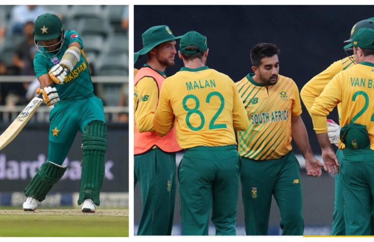 PAKvSA: Shaheens beat depleted Proteas by 4 wickets in first T20