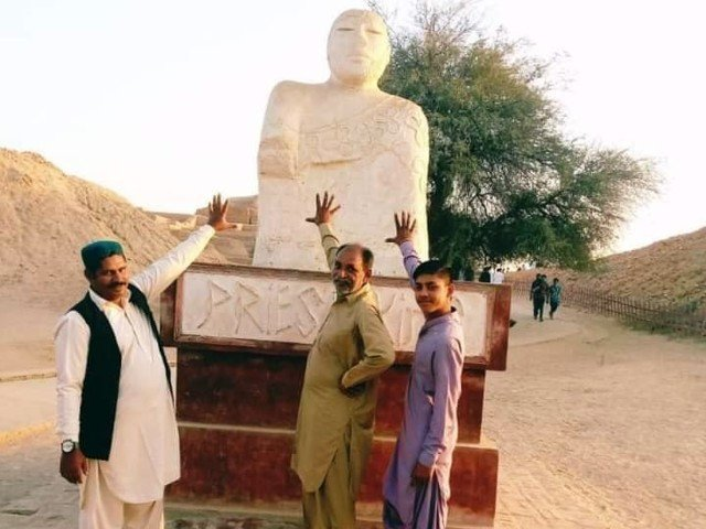 Three visitors booked for 'Dishonouring' Priest King at Mohenjo Daro