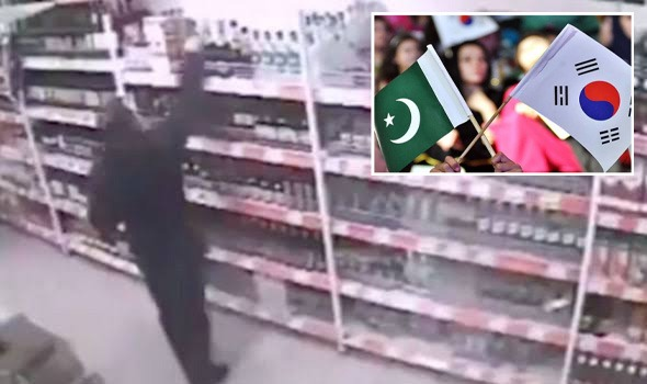 Two Pakistani Diplomats caught Stealing on Camera in South Korea