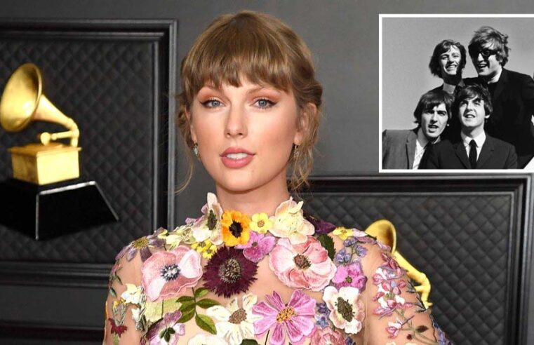 Taylor Swift's Fearless smashes The Beatles' 54-years-old record