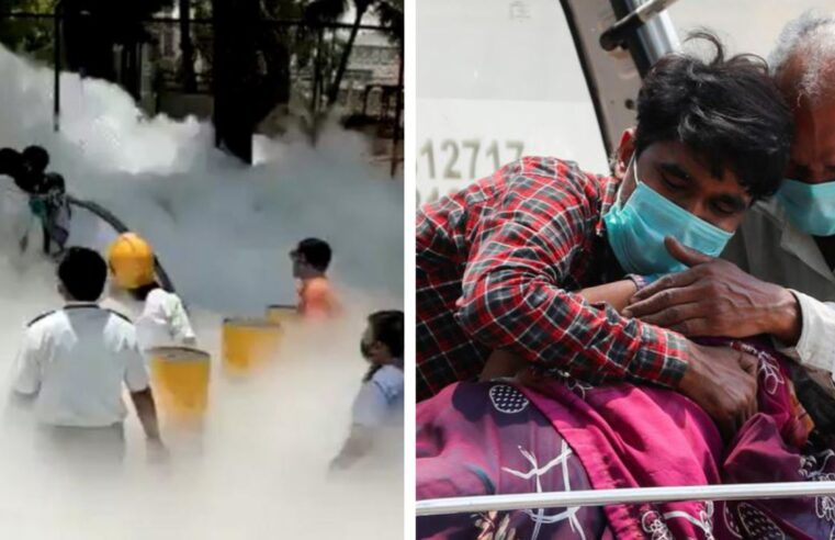 Oxygen leak kills 22 Covid patients at Indian hospital as country battles second deadly wave (VIDEO)