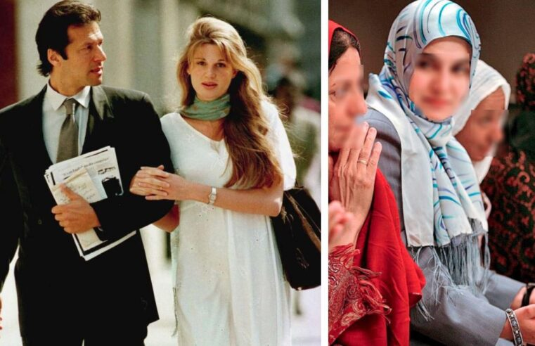 """""""Put a veil on the man's eyes not on the woman,"""" Jemima recalls what the Imran Khan she knew used to say"""
