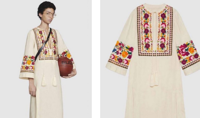 Not a copy because Gucci did it – Italian luxury brand launches kurta worth $3500