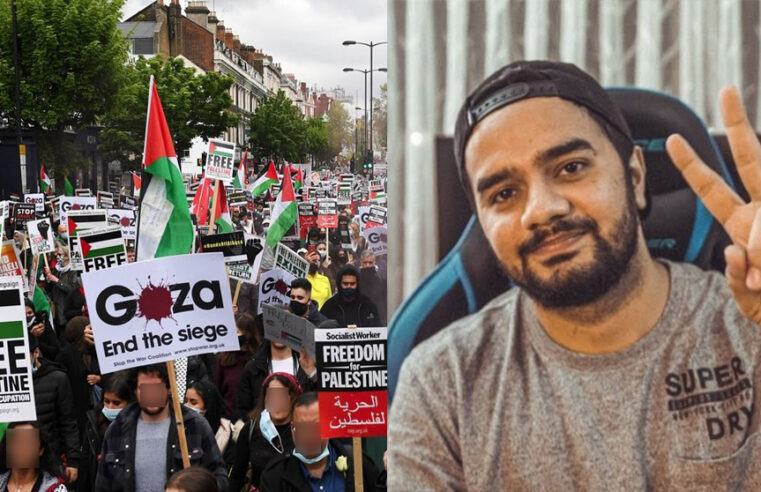 Irfan Junejo another time draws public ire for not speaking about Palestine issue but 'he didn't mean it'