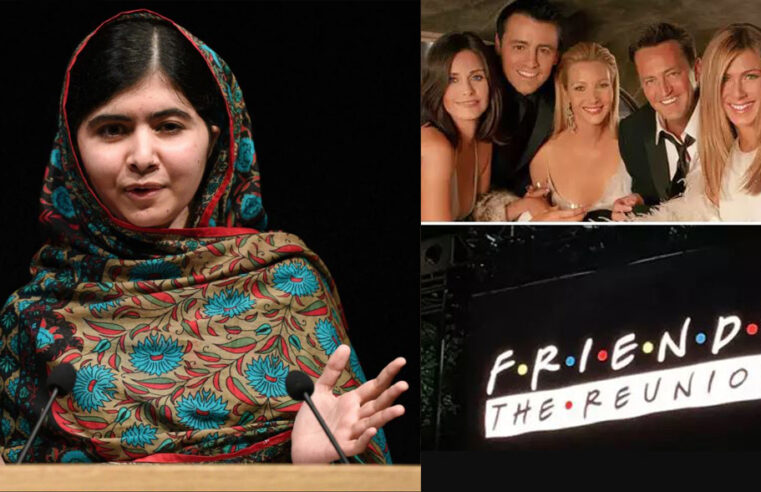Malala set to join Justin Bieber, Lady Gaga, and more at HBO's 'Friends Reunion'