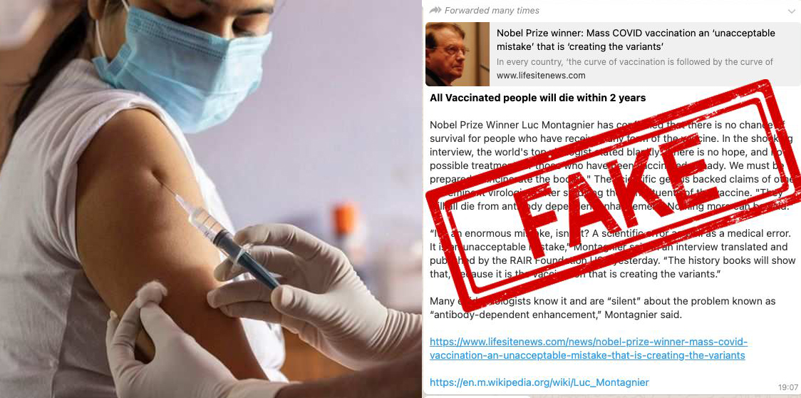 All vaccinated people will NOT die in Two years – Fake news busted