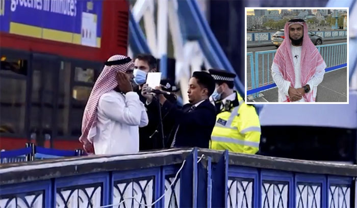 WATCH – Muslims rejoice as Azaan echoes from London's iconic Tower Bridge