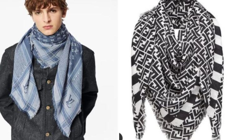 LV and Fendi criticized for selling Palestinian Keffiyeh