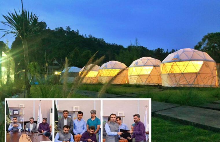 TDCP and Sweet Tooth join hands to install Igloo glamping pods in tourist sites across Punjab