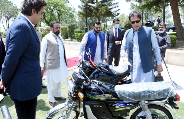 Pakistan gets its first locally made Electric Bike which covers 60-100 kms in a single charge
