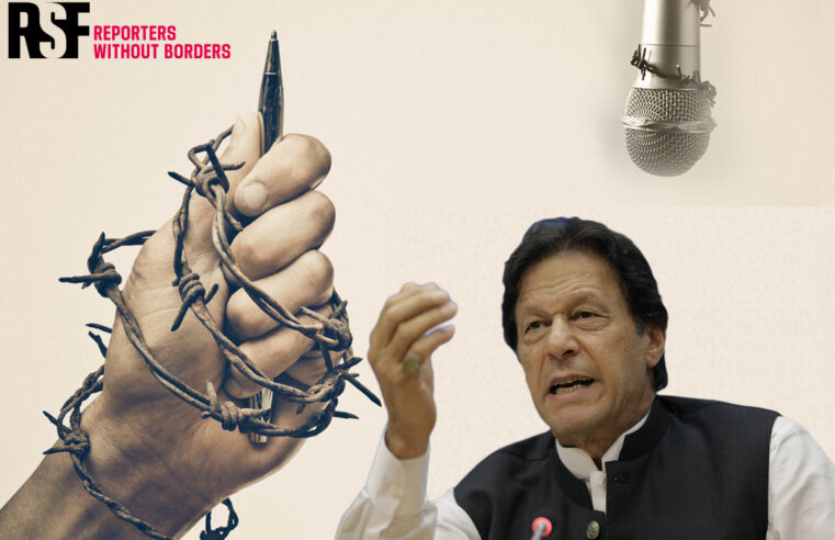 PM Imran Khan named among 37 'Predators' of Press Freedom by Reporters without Borders