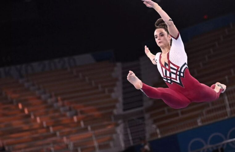 German gymnasts wore full-body unitards in stand against sexualization in Olympics