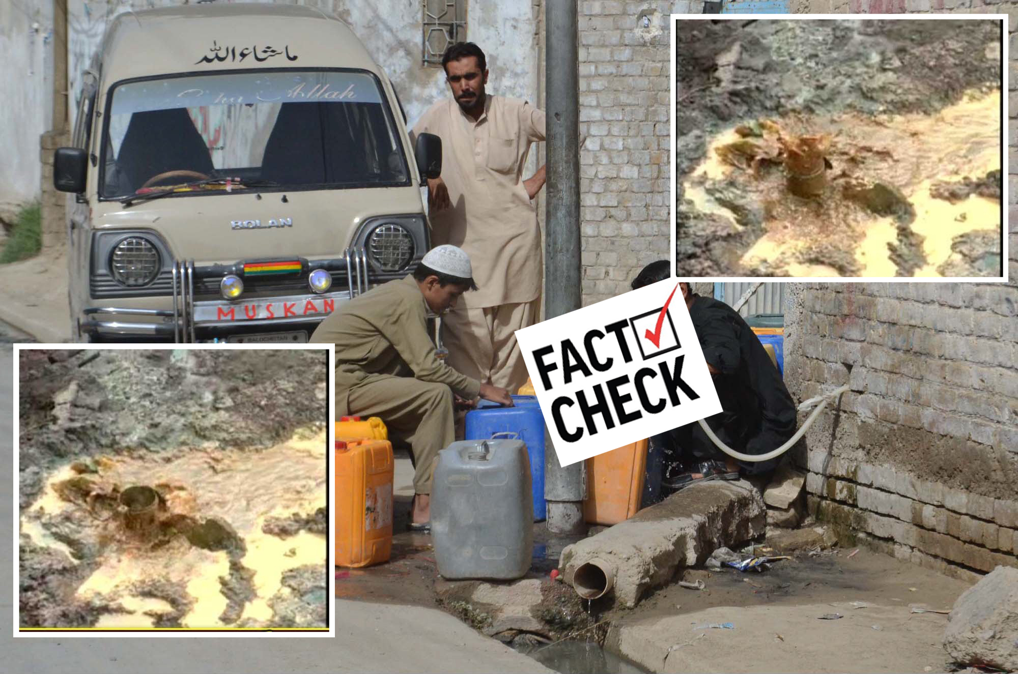 FAKE NEWS ALERT: No crude oil reserves found during water bore drilling in Islamabad