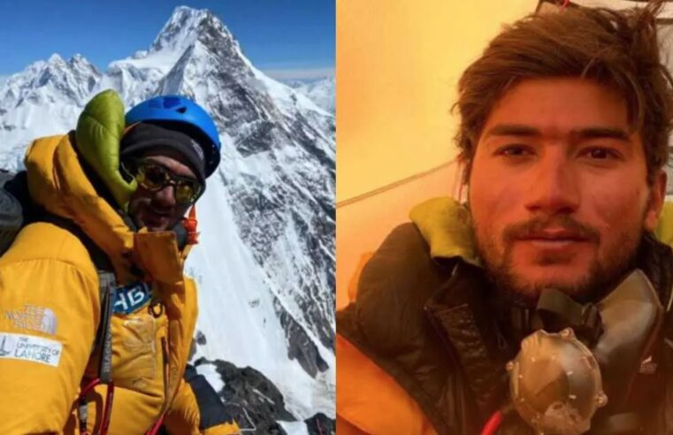 Pakistan's Shehroze Kashif makes history as the 19-year-old becomes youngest ever to summit K2