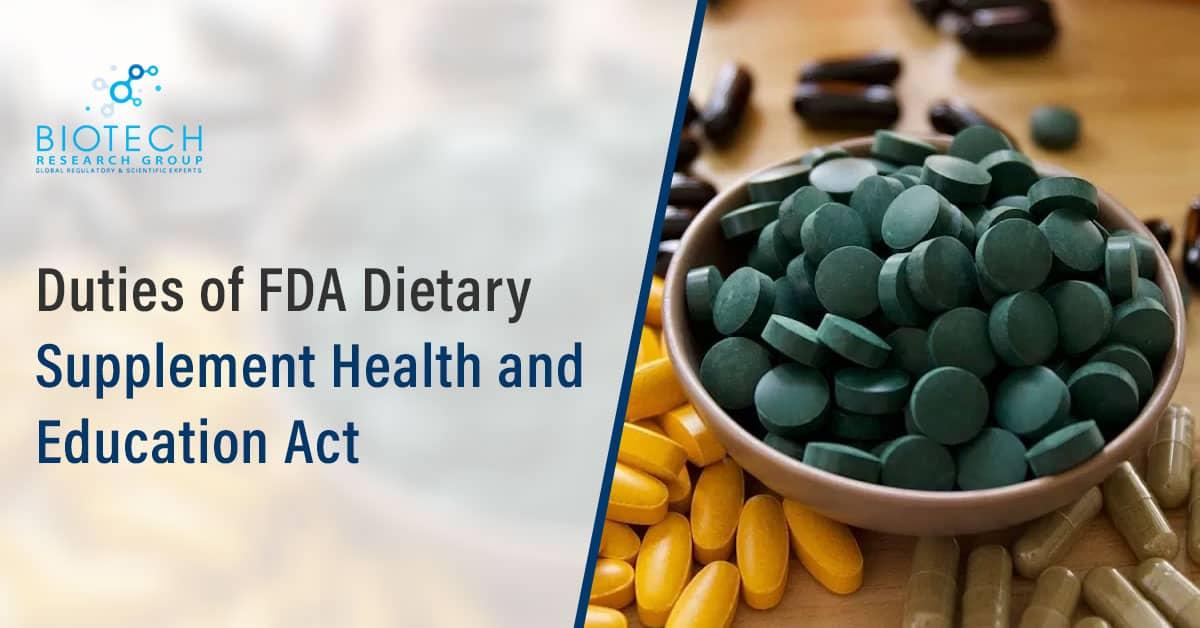 FDA Dietary Supplement