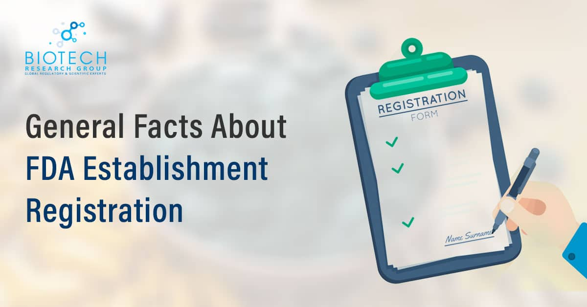 FDA Establishment Registration