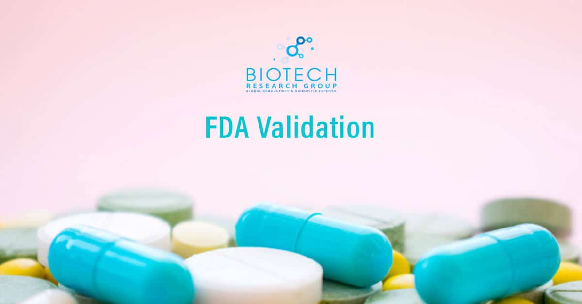 FDA Validation