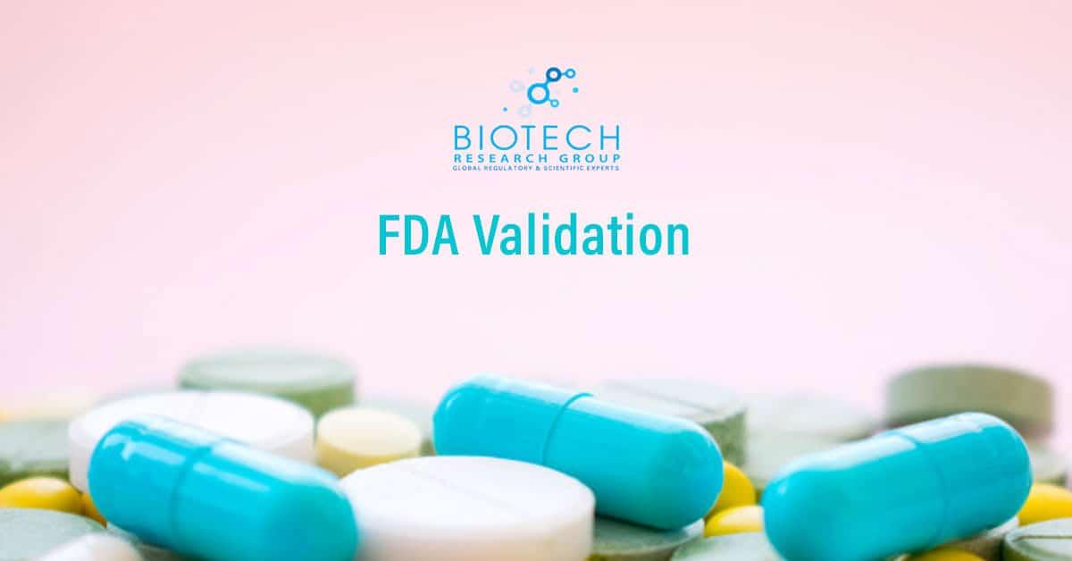 FDA Validation