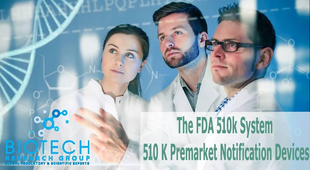 FDA 510k System And 510 K Premarket Notification Devices