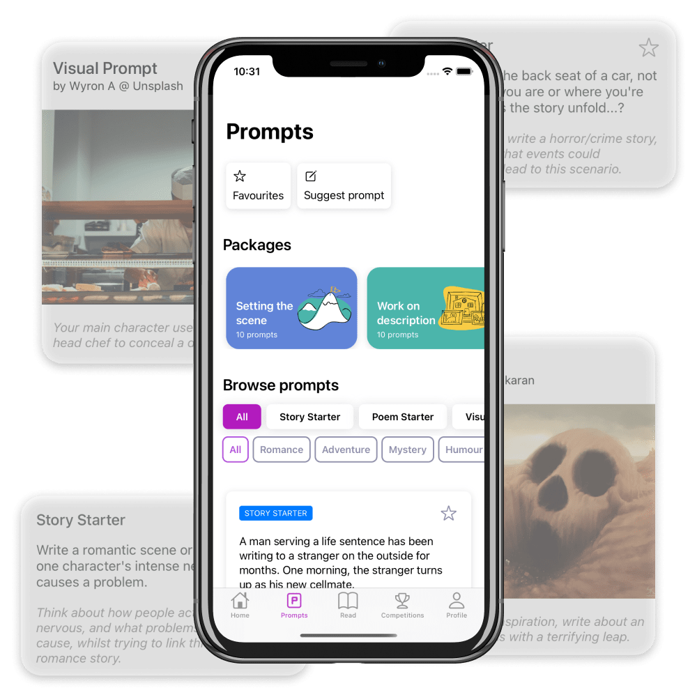 Browse Writing Prompts