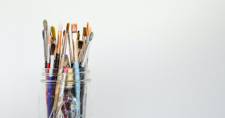 Paint Brushes - Art of colour