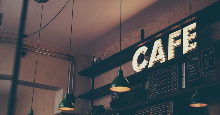 In A Cafe - Writing Prompt