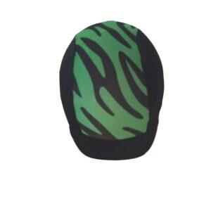 KLES´S Funda para Casco de Equitación Diseño Sebra. Equestrian Hat Cover.