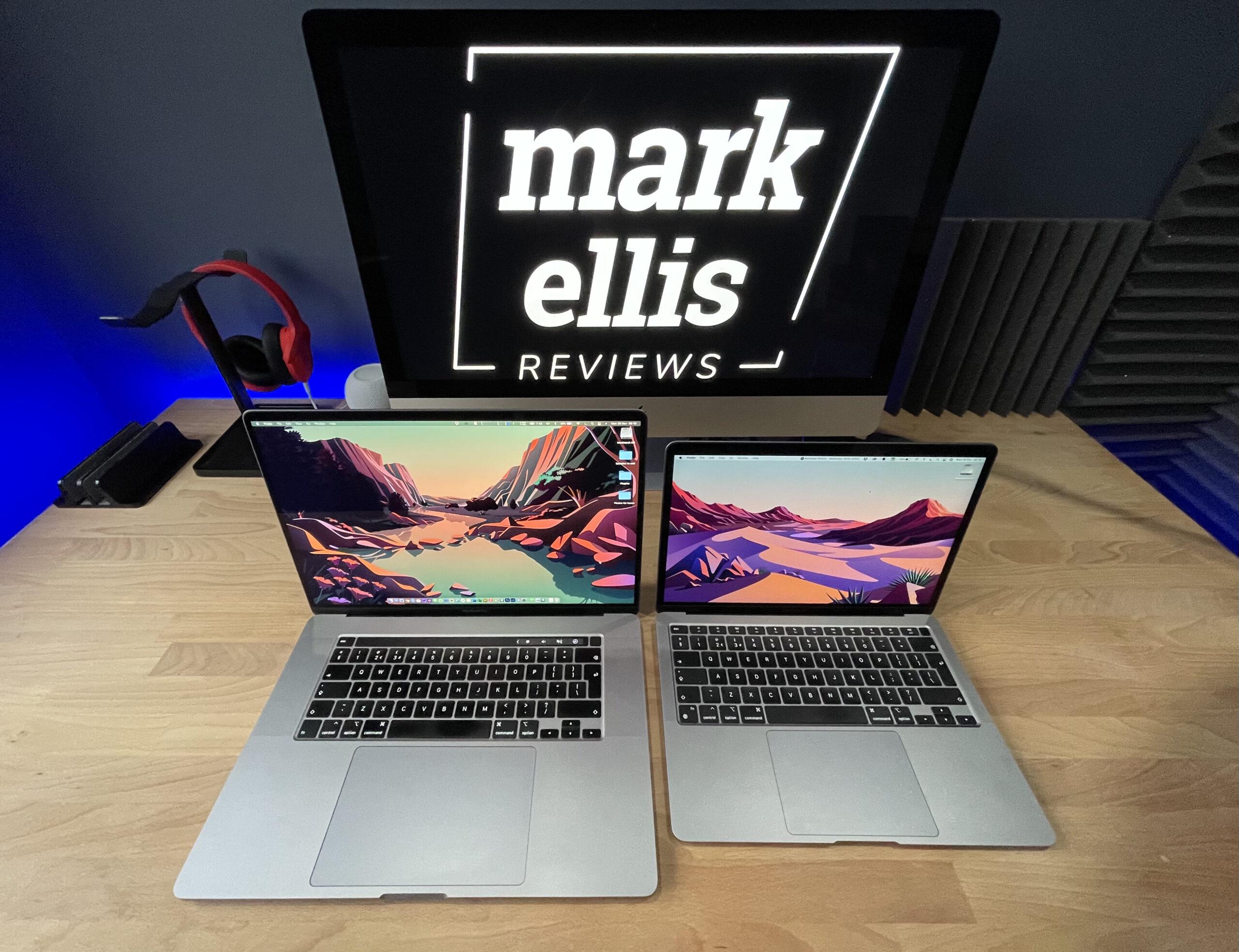 "M1 Macbook Air vs 16"" Macbook Pro"