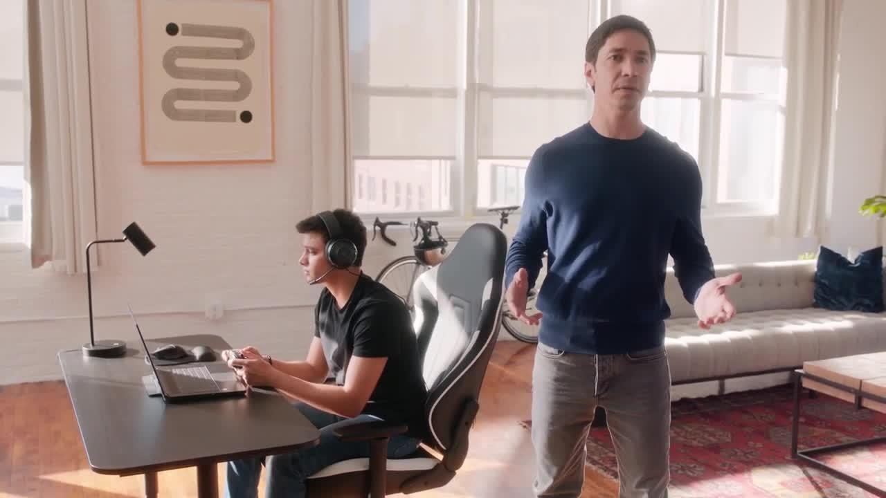 Justin Long Intel ads