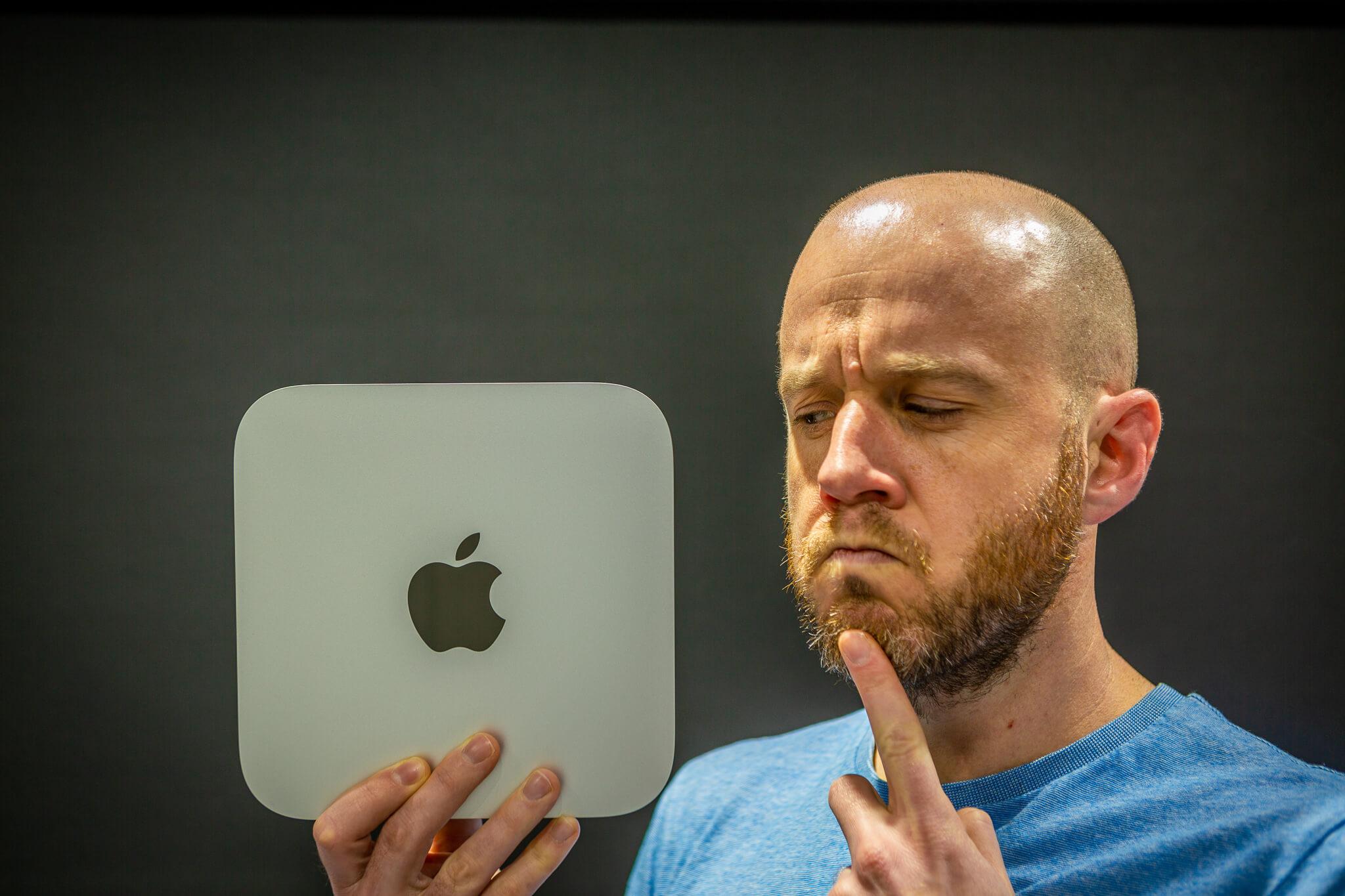 M1 Mac mini ports