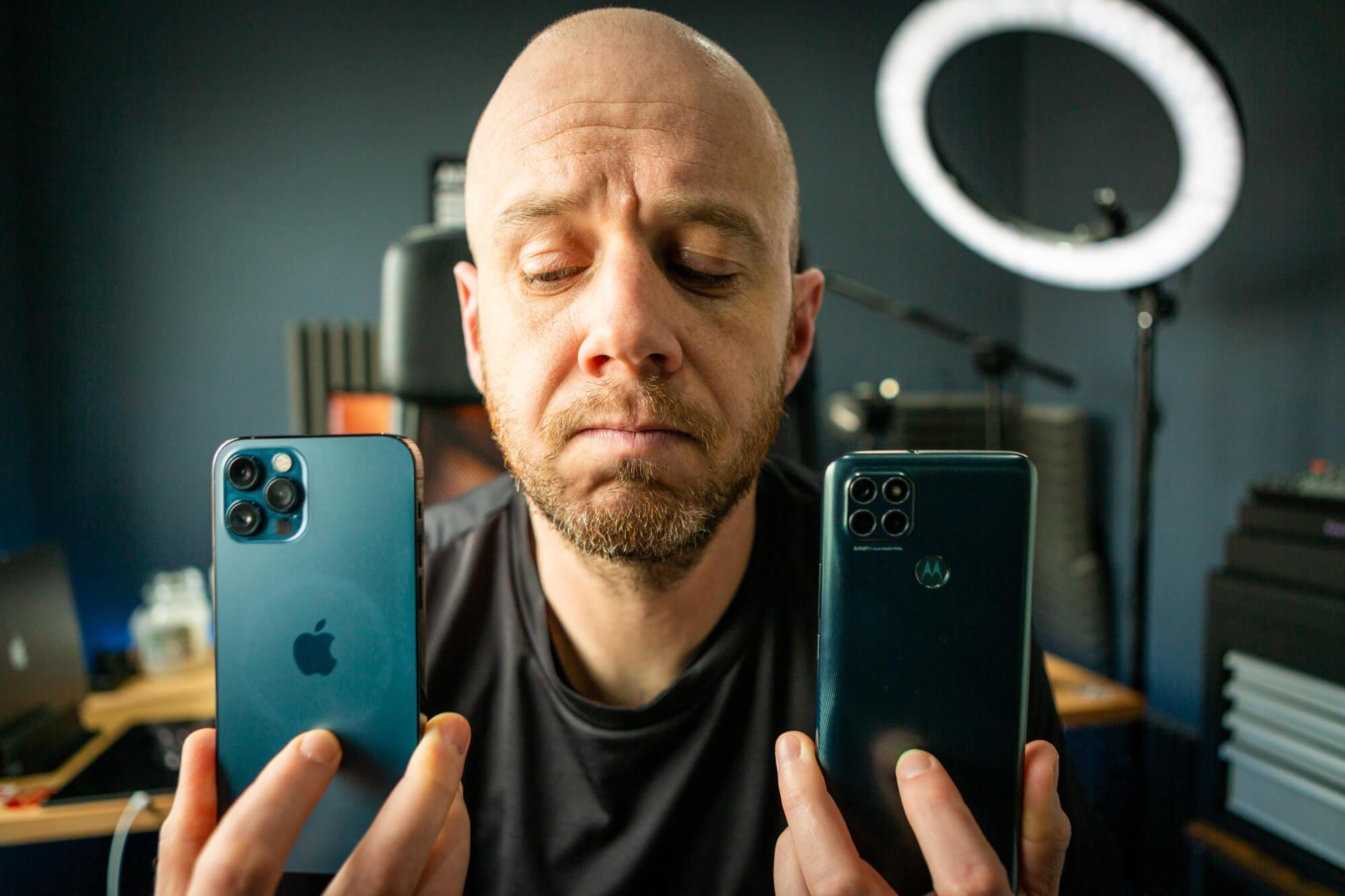 Android versus iOS