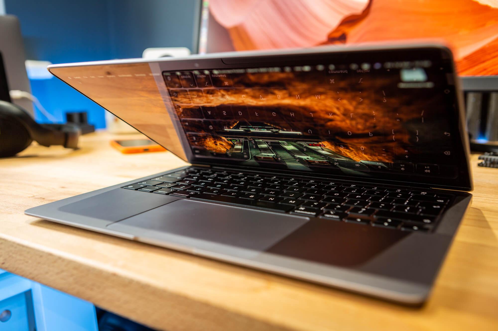 M1 MacBook Air battery life